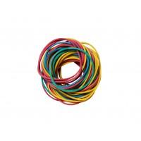 Gumki Do Włosów Kolorowe 100g