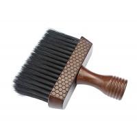 Drewniana Karkówka Zmiotka Fryzjerska Barberska
