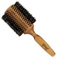 Drewniana Szczotka Z Naturalnym Włosiem Eurostil 45mm