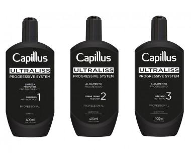 Capillus Ultraliss Nanoplastia Zestaw do progresywnego prostowania