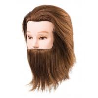 Główka Treningowa Z Brodą 100% Naturalny Włos