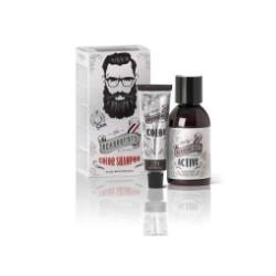 Półtrwała koloryzacja dla brody, wąsów i włosów